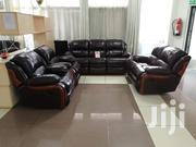 Imported Luxurious 7 Seater Recliner Sofa in Rich Leather | Furniture for sale in Nairobi, Woodley/Kenyatta Golf Course
