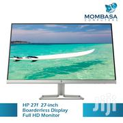 Hp 27f 27inch Boarderless Display Monitor | Computer Monitors for sale in Nairobi, Nairobi Central