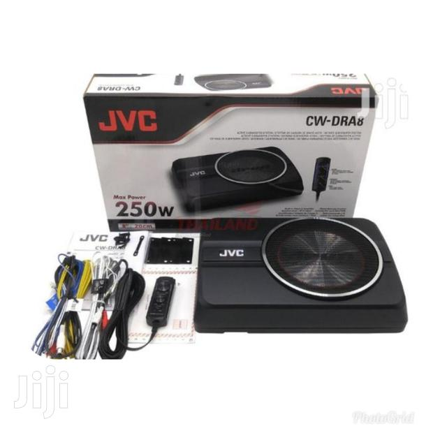 New JVC Cw-dra8 Powered Underseat,Free Delivery Within Nairobi Cbd