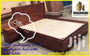 Solid Mahogany Bed | Furniture for sale in Nairobi, Karen