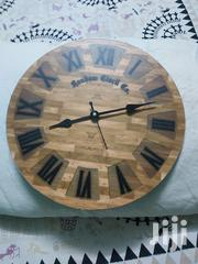Wooden Rustic Wall Clock | Home Accessories for sale in Mombasa, Mji Wa Kale/Makadara