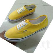 Yellow and White Vans | Shoes for sale in Nairobi, Nairobi Central