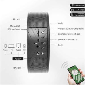 Bluetooth Speaker With Wireless Charger For iPhone And Samsung Phones