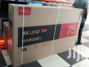 2019 TCL 75 Inches Android 4K UHD Smart TV Model 75T8M With Google | TV & DVD Equipment for sale in Nairobi, Nairobi Central