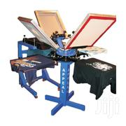 Rotary 4 Color 4 Station Logo Screen Printing Machine | Printing Equipment for sale in Nairobi, Nairobi Central