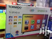 Tornado Smart Android Tv 43 Inches With Netflix Youtube Wifi Playstore   TV & DVD Equipment for sale in Nairobi, Nairobi Central