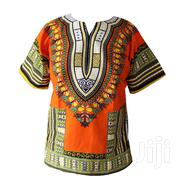 Orange Dashiki Shirt | Clothing for sale in Nairobi, Roysambu