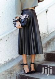 Black Leather Pleated Skirt | Clothing for sale in Nairobi, Nairobi Central