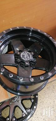 Offset Black Rims 17 Inch | Vehicle Parts & Accessories for sale in Nairobi, Mugumo-Ini (Langata)