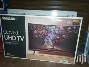 Samsung Curved Smart 4K UHD TV Black 49 Inch