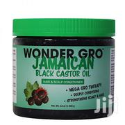 Wonder Gro Jamaican Black Castor Oil Hair and Scalp Conditioner - 340g | Hair Beauty for sale in Nairobi, Nairobi Central