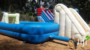 Inflatable Football Pitch For Hire
