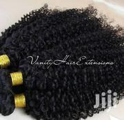 "18"" Kinky Curly Human Hair 