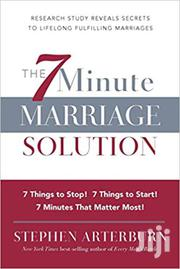 The 7 Minute Marriage Solution -stephen Arterburn | Books & Games for sale in Nairobi, Nairobi Central