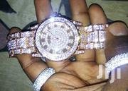 Luxury Gold Fully Iced Watch | Watches for sale in Kisumu, Central Kisumu