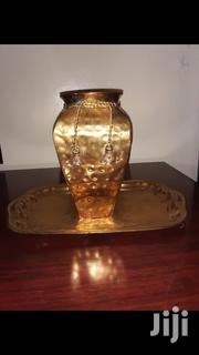 Brass Vase With Tray | Home Accessories for sale in Nairobi, Embakasi
