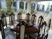Mahogany Dining Table With 14 Chairs | Furniture for sale in Nairobi, Parklands/Highridge