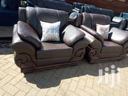 Pure Leather Five Seater | Furniture for sale in Nairobi, Ngara