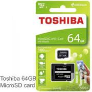 Toshiba 64gb M203 Microsdxc Uhs-I U1 Card | Accessories for Mobile Phones & Tablets for sale in Nairobi, Nairobi Central