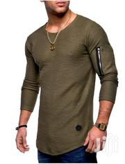 Men Tshirt Without Hood Army Green,White | Clothing for sale in Nairobi, Nairobi West