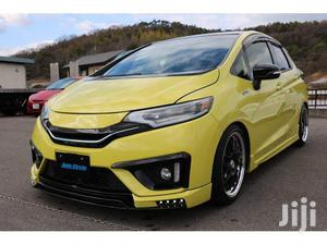New Honda Fit 2013 Yellow