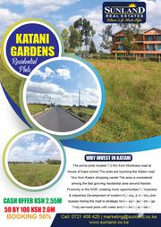 Katani Gardens | Land & Plots For Sale for sale in Machakos, Katangi