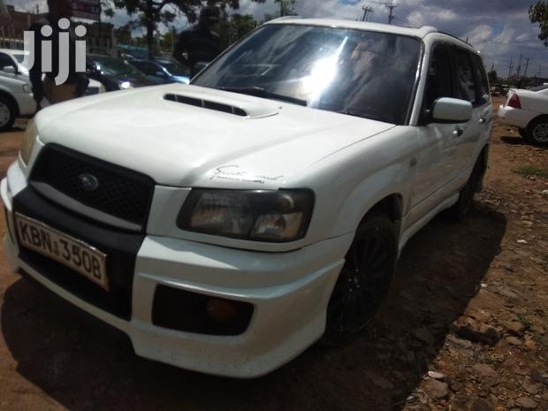Archive: Subaru Forester 2003 White