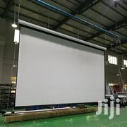 Motorized Wall Mount Screen 120'' X 120'' | TV & DVD Equipment for sale in Nairobi, Nairobi Central