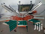 Manual 6 Color Station Screen Printing Machine For T-shirt | Printing Equipment for sale in Nairobi, Nairobi Central