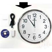 Wifi Series Wall Clock Hidden Spy Camera | Security & Surveillance for sale in Nairobi, Nairobi Central