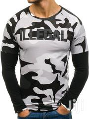 Men Illegal Tshirt White and Black | Clothing for sale in Nairobi, Nairobi West