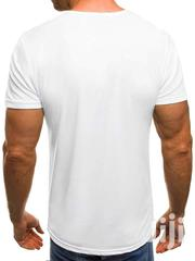 Men Tshirt White And Black | Clothing for sale in Nairobi, Nairobi West