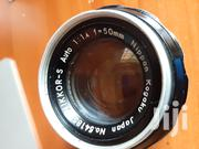 Nikkor S Auto 50mm F1.4 Manual Lens   Accessories & Supplies for Electronics for sale in Nairobi, Nairobi Central