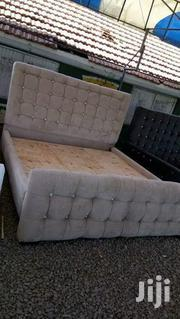 Tufted Modern Quality 5by6 Bed | Furniture for sale in Nairobi, Ngara