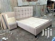 Simple Tufted Quality 5by6 Bed | Furniture for sale in Nairobi, Ngara