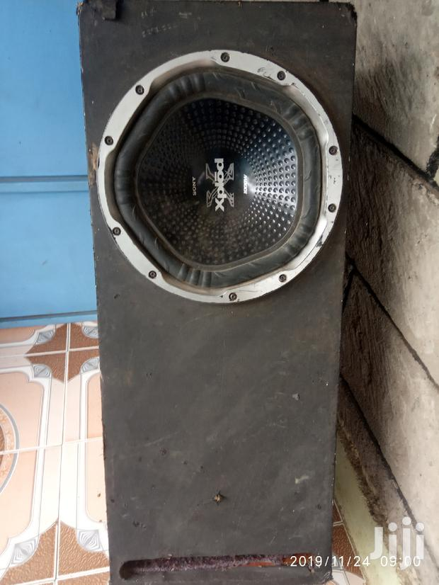 Archive: Clean Powerful 1000w Sony Xplod Speaker And 600w Jec Booster