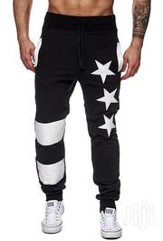Joggers Black and Gray Star | Clothing for sale in Nairobi, Nairobi West