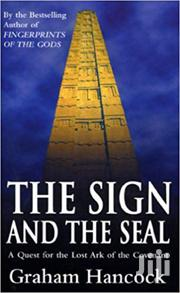 The Sign And The Seal-graham Hancock | Books & Games for sale in Nairobi, Nairobi Central