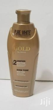 Pure White Gold Glowing Brightening Lotion | Skin Care for sale in Nairobi, Kileleshwa