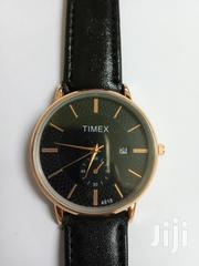 Timex Waterbury Classic 40mm Leather Strap Watch-black | Watches for sale in Mombasa, Shimanzi/Ganjoni