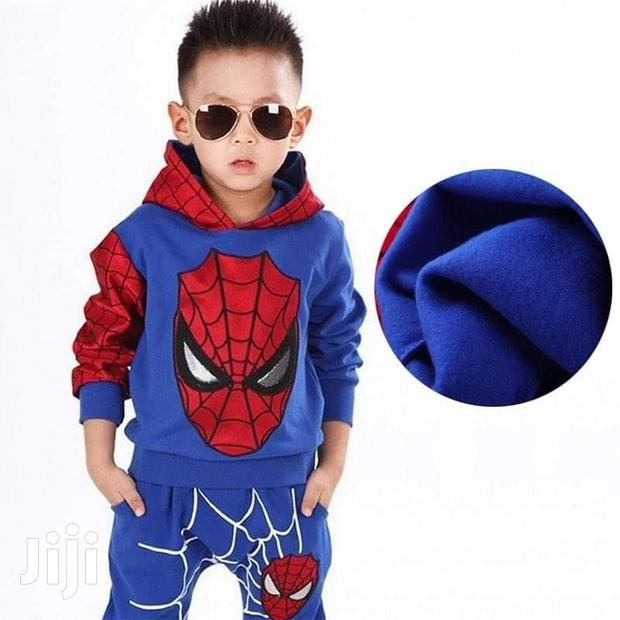 Archive: 2 Pieces Spiderman Outfit