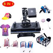8 In 1 Sublimation Printer/Heat Press Machine | Printing Equipment for sale in Nairobi, Nairobi Central