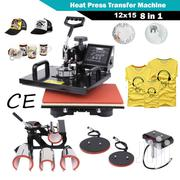 8 In 1 Heat Press T-shirt Image Transfer Machine | Printing Equipment for sale in Nairobi, Nairobi Central