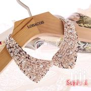 Sequined Beaded Knitted Cloth Ribbon Necklaces Clothing | Jewelry for sale in Nairobi, Karen