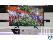 "Sony - 49"" - Smart Ultra HD 4K LED TV - Android OS - Inbuilt Wi 