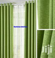 Green Linen Curtain   Home Accessories for sale in Nairobi, Nairobi Central