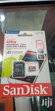 Sandisk Memory Card 256 GB Micro Sd Card.   Accessories for Mobile Phones & Tablets for sale in Nairobi, Nairobi Central