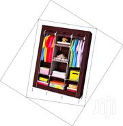 A Portable Wooden Frame Wardrobe. | Furniture for sale in Nairobi, Kiamaiko