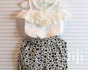 White Top and a Trouser | Children's Clothing for sale in Mombasa, Shimanzi/Ganjoni