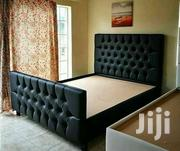Stylish Modern Quality Tufted 5by6 Bed | Furniture for sale in Nairobi, Ngara